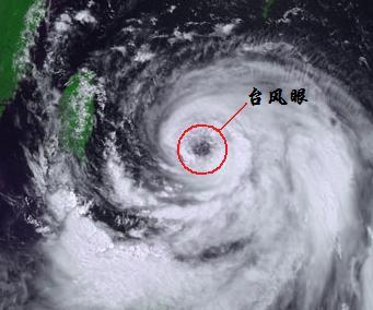 台风风力最大的部位是哪个地方